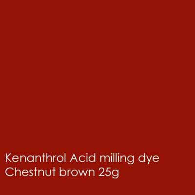 Chestnut brown kenanthrol acid milling dye shade 25g