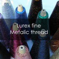 Lurex fine metalic thread