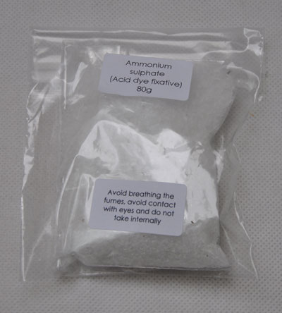 80g Ammonium sulphate fixing agent for acid dyes