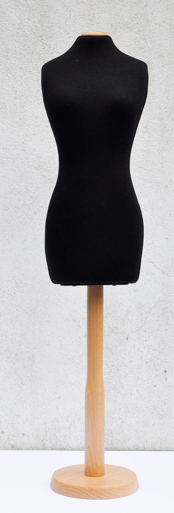 Black Half scale pinnable dressmakers mannequin