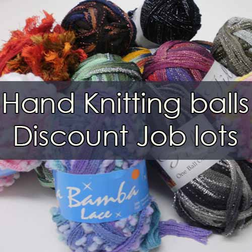 Hand knitting yarn discount job lots