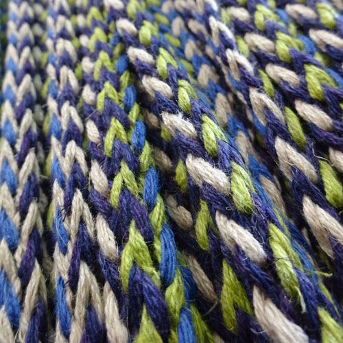 Knit braid by the metre