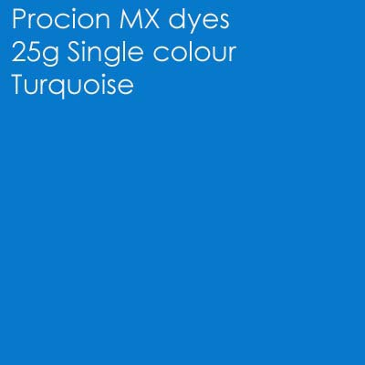 Turquoise procion MX 25g (Primary mixing shade)